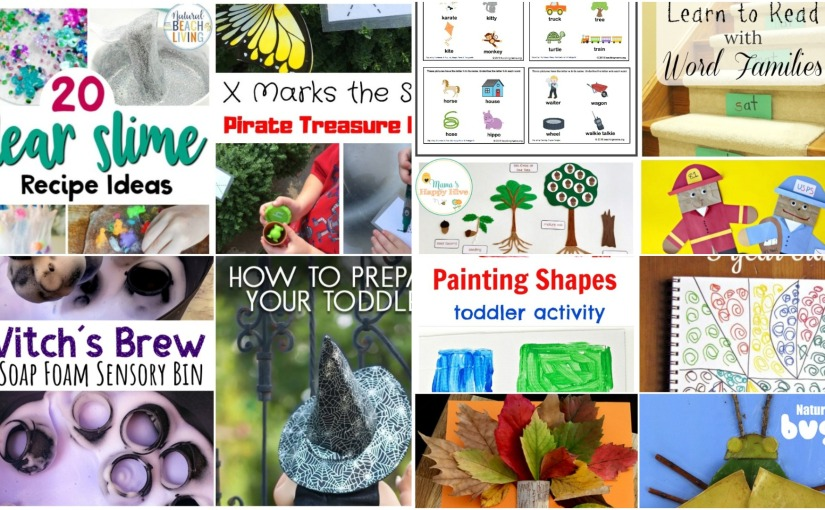 Painting Shapes, Zentagles, Nature Lesson, Pirate Treasure Hunt, Clear Slime Recept List