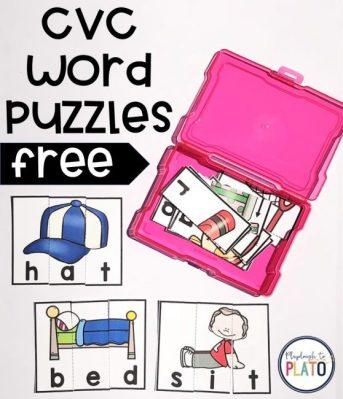 CVCwordPuzzles