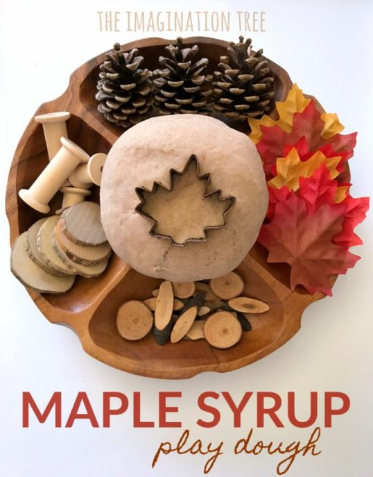 Maple-Syrup-Play-Dough-Recipe
