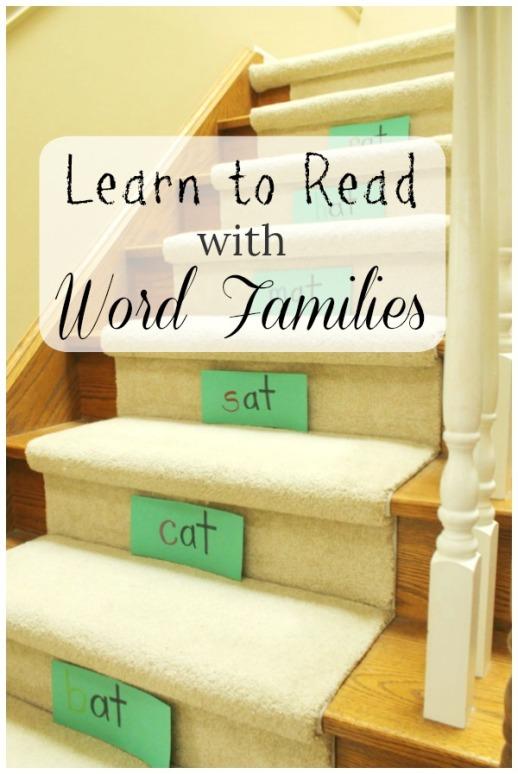 Oak-Meadow-Word-Families