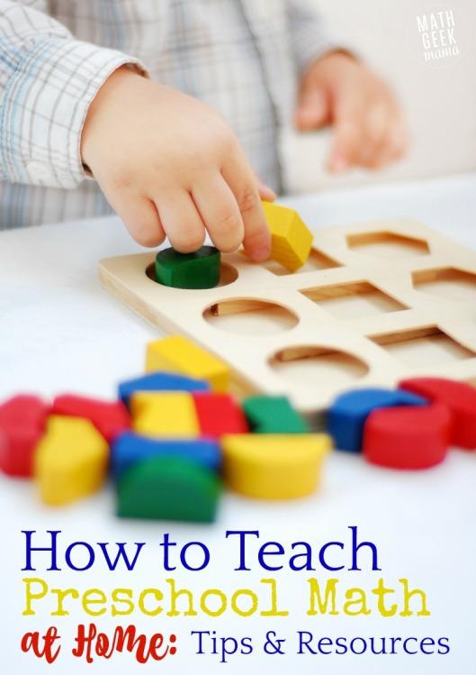 Preschool-Math-Resource-List