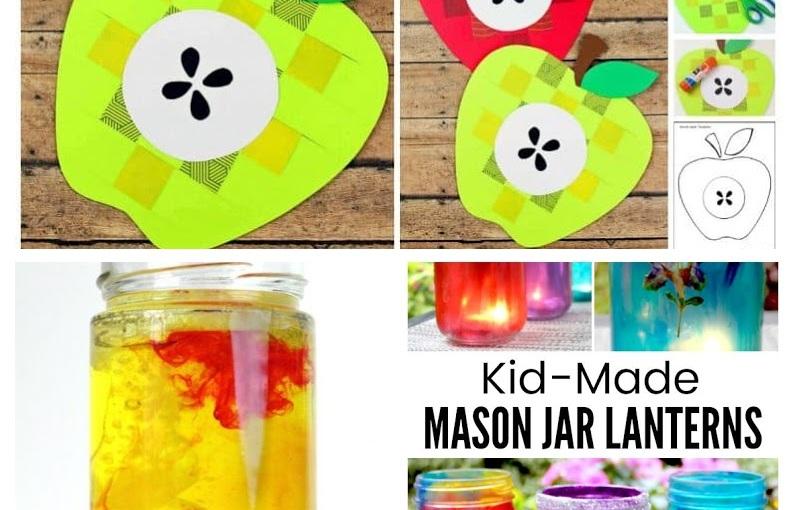 Paper Apple, Salt Volcano and Colourful JarLanterns