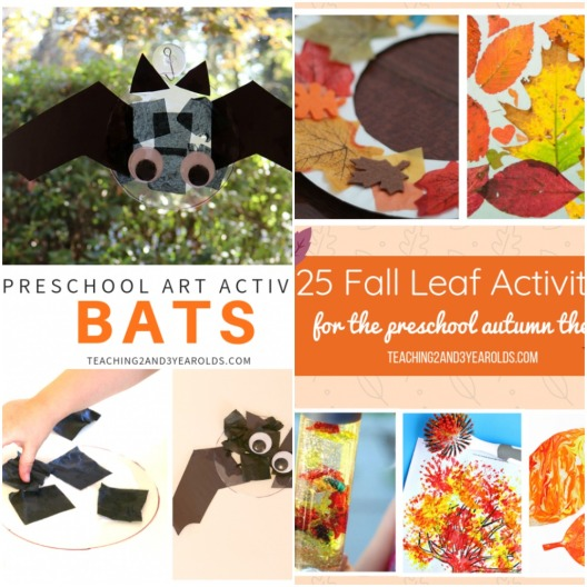 Bat Craft with Preschoolers and 25 Leaf Activities for the Fall Time.jpeg
