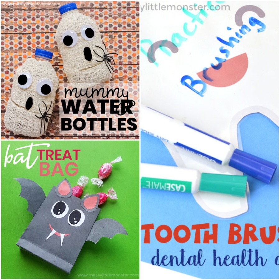 Bat treat bag, Mummy water bottles and Tooth brushing activity.jpeg
