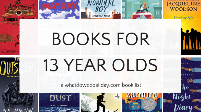 Books for 13-year-old