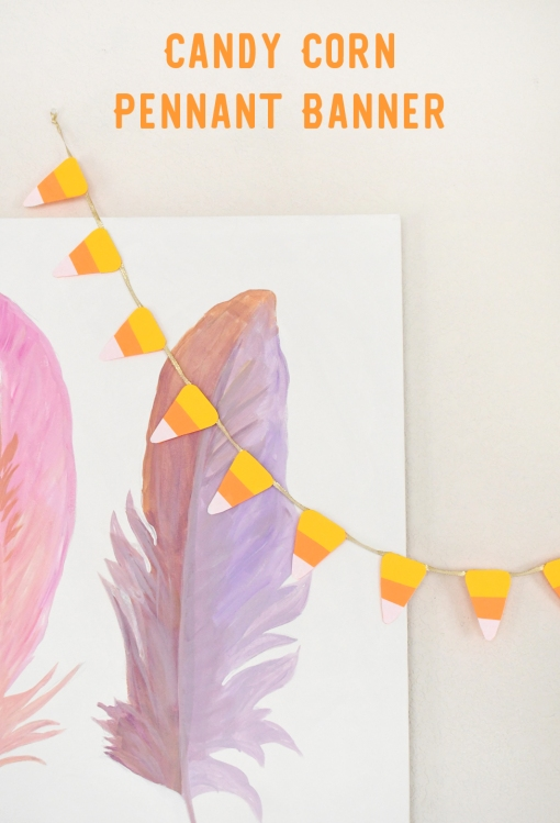 candy-corn-pennant-banner