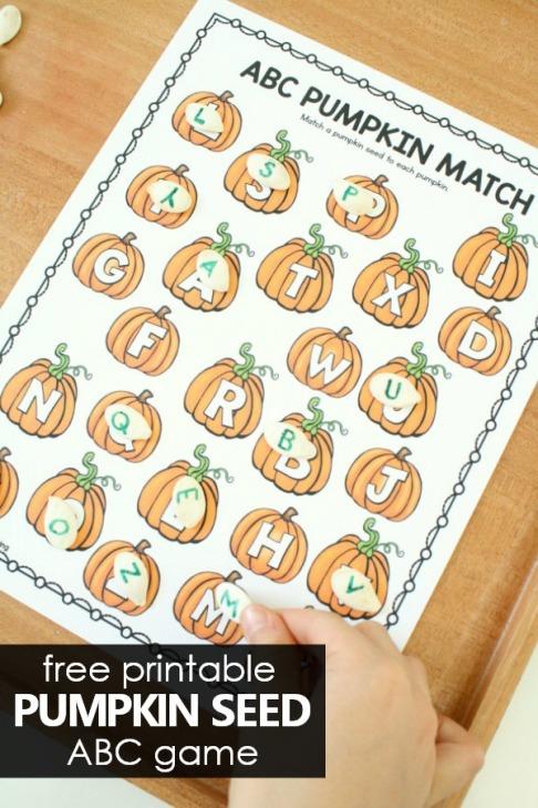 Free-Printable-ABC-Pumpkin-Matching-Game