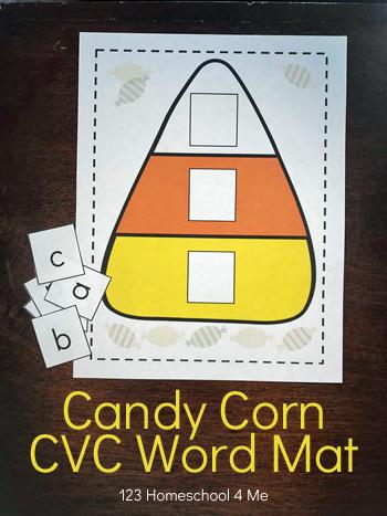 free-printable-Candy-Corn-CVC-sight-words-Mat