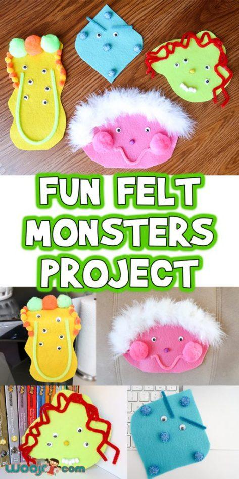 Fun-Felt-Monsters-Project