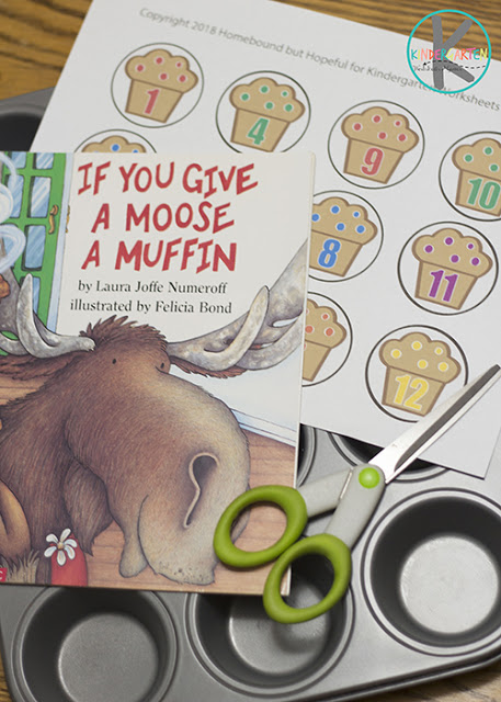 if you give a moose a muffin activity
