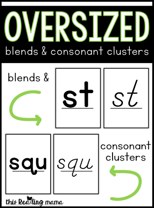 Oversized-Blends-Cards-and-Consonant-Clusters-Cards