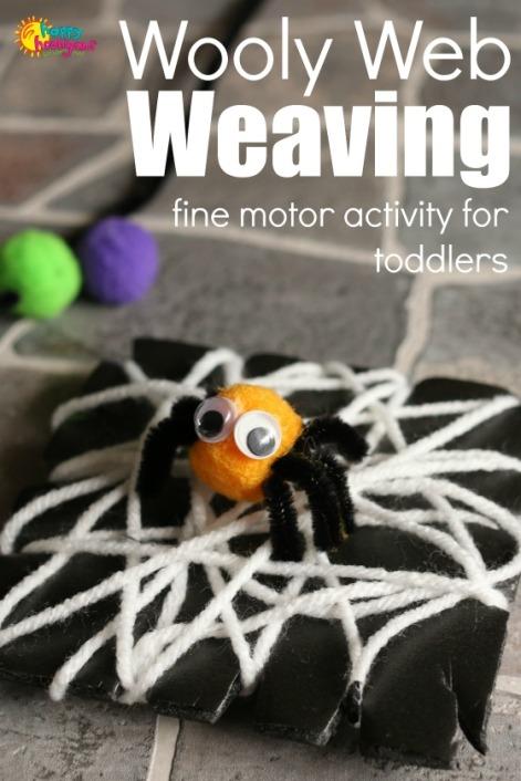 Pom-Pom-Spiders-Wooly-Web-Weaving-