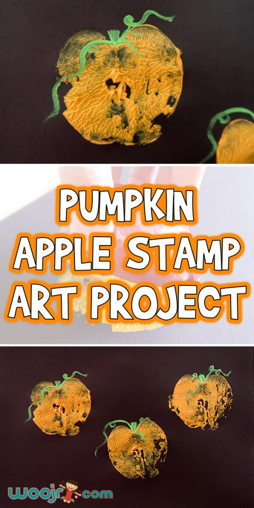 Pumpkin-Apple-Stamp-Art-Project