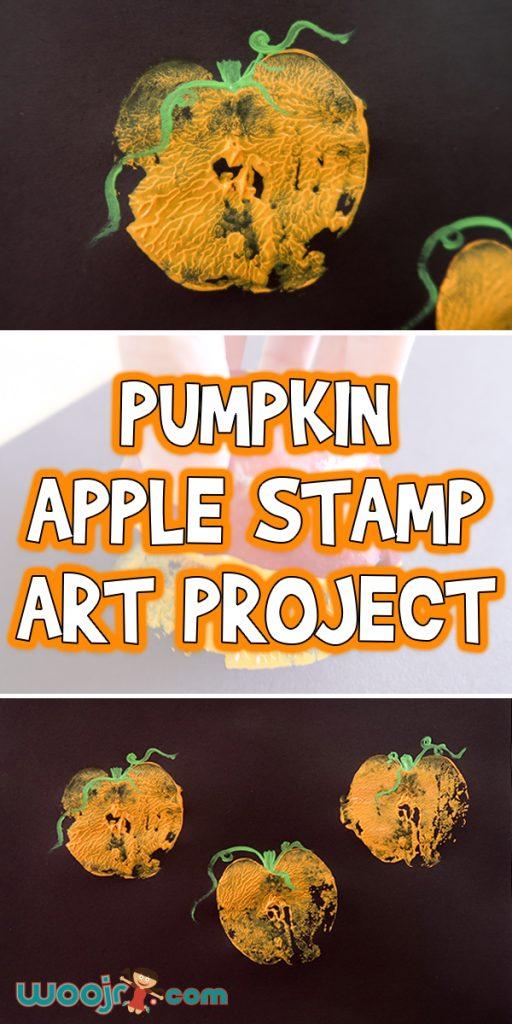 Pumpkin-Apple-Stamp-Art-Project
