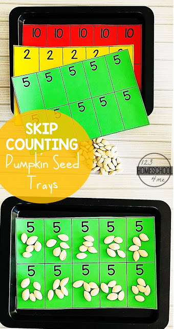 Skip Counting with pumpkin