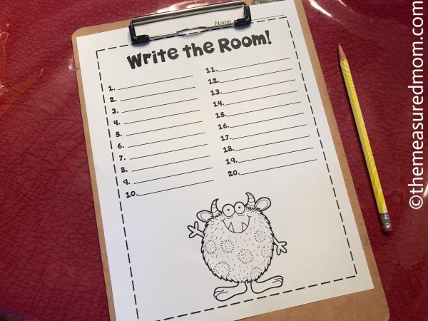 telling time activities write the room.jpg