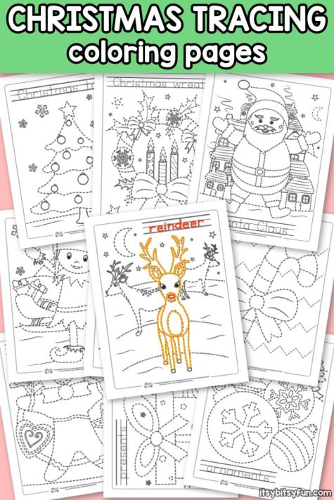 10-Free-Christmas-Tracing-Coloring-Pages-for-Kindergarten