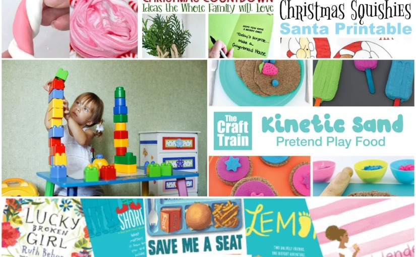 11.12 Sensory and Articles: Kinetic Sand Play, Candy Cane Slime, Christmas Countdown and Books aboutKind
