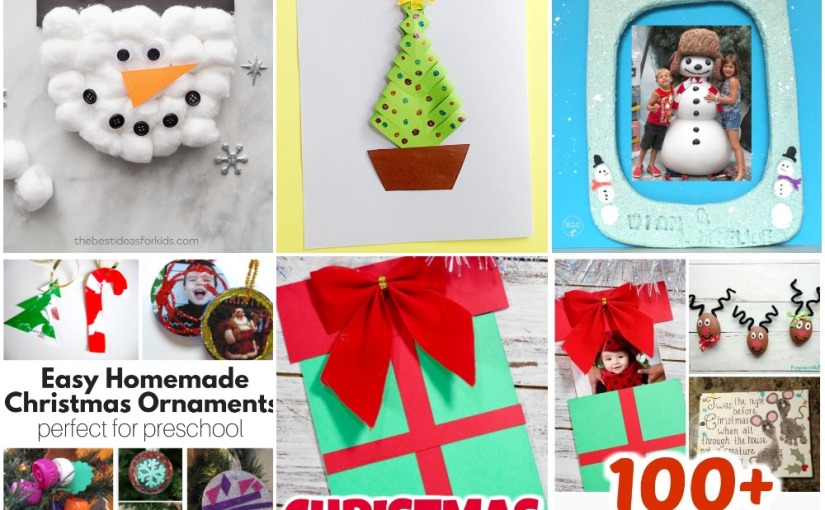11.18 Craft: Snowman, Christmas Tree and Card, Easy Christmas Ornaments and Crafts