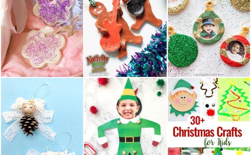 11.20 Crafts: Pine Cone Angel, Salt Dough Ornaments, Christmas Crafts and PrintableElf