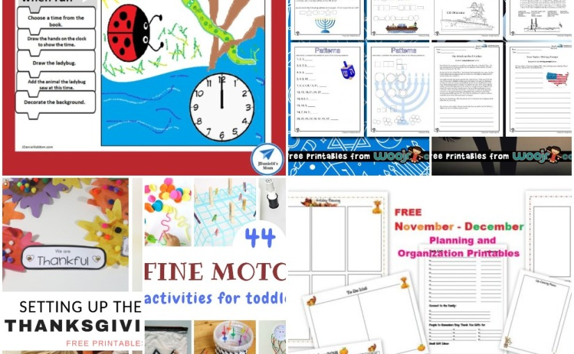 11.20 Printables and More: Algorithm Drawing Page, Math for Hanukkah, Pearl Harbor Lesson and Plan for Nov-Dec