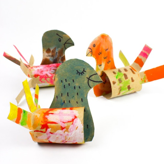 Cardboard Toilet Roll Turkeys for Thanksgiving Kids Craft.jpg