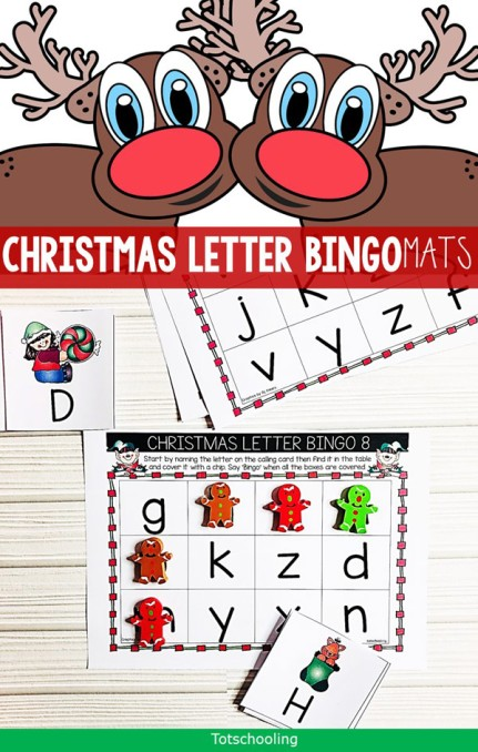 Christmas-Letter-Bingo-Game