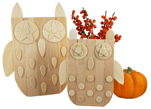 Craft-Stick-Owls