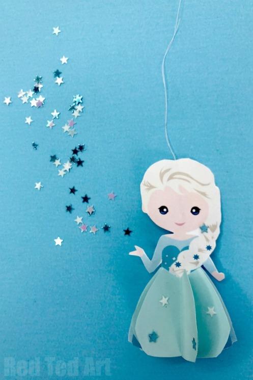 Elsa-Ornament-diy