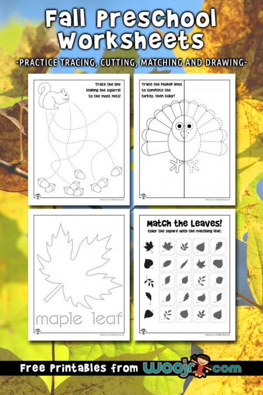 fall-preschool-worksheets