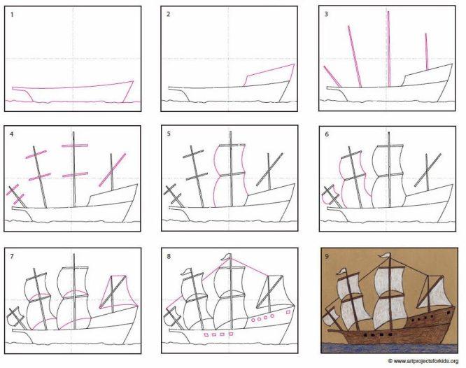 Mayflower-diagram