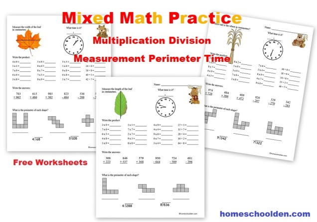 Mixed-Math-Practice-Multiplication-Division-Measurement-Perimeter-Time-Free-Worksheets.jpg