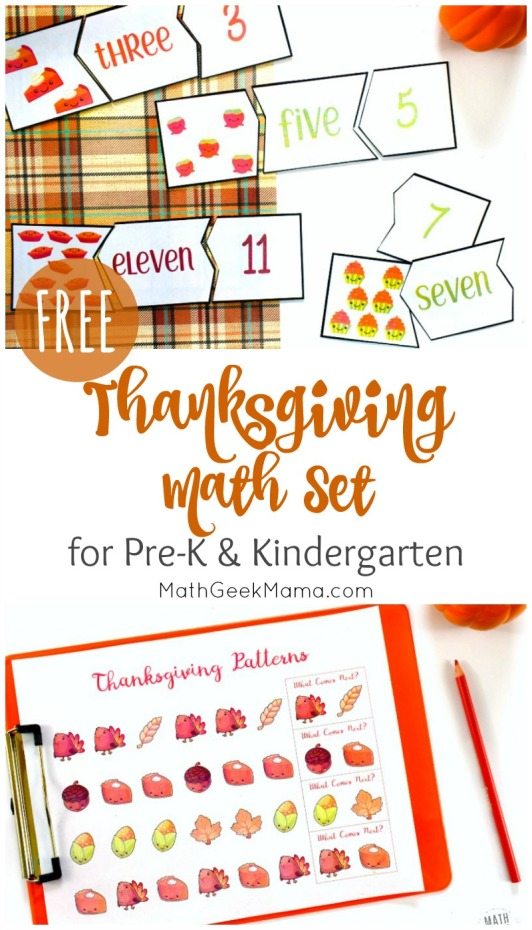 Thanksgiving-Math-Kindergarten