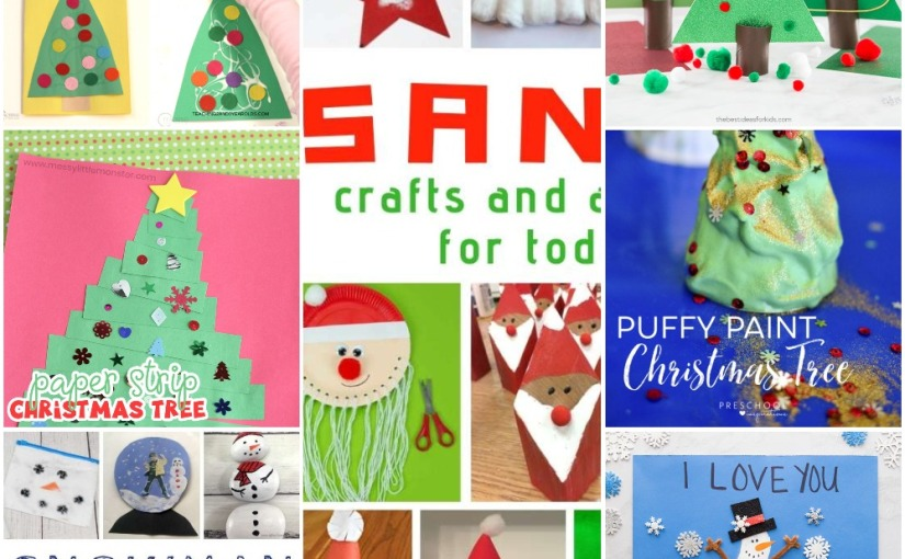 12.11 Crafts: A Lot of Christmas Tree Cards, Snowman and Santa Crafts andActivities
