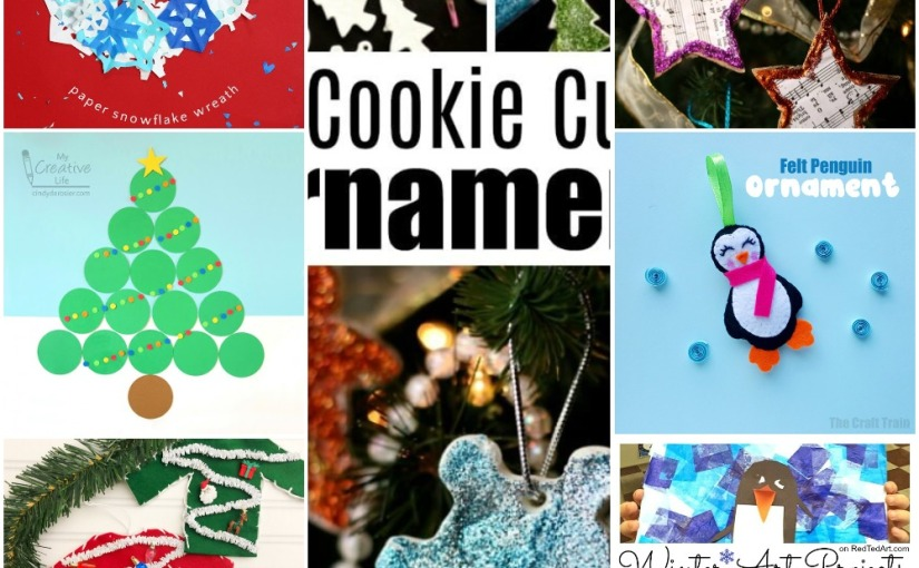 12.12 Crafts: Snowflake Wreath, Christmas Tree, Christmas Sweater, Star and Penguin Ornament, WinterArt