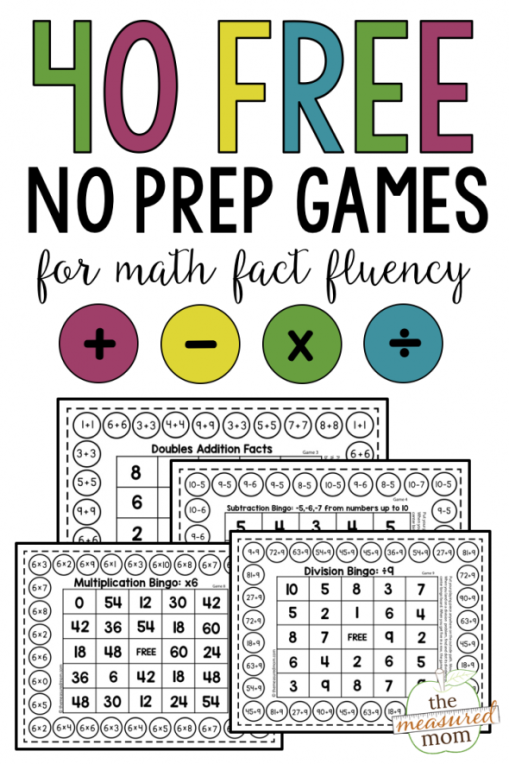 40 Free No Prep Game for Math.png