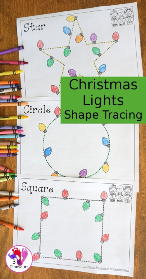 christmaslightsshapetracing