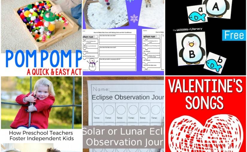 01.19 Pom Pom Pushing, Penguin Alphabet, Eclipse Recording, Fake Snow and Algorithm, ValentineSongs