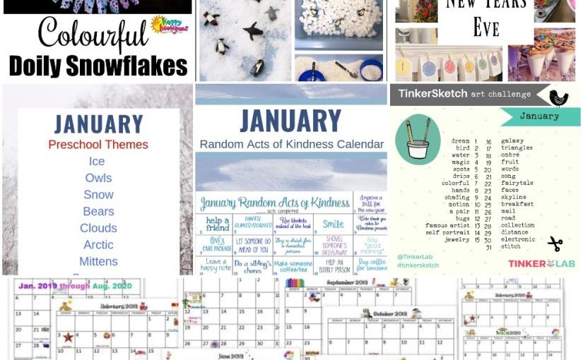 12.22-23 Snowflakes, 2019 Calendar, Snow for Sensory Table ...