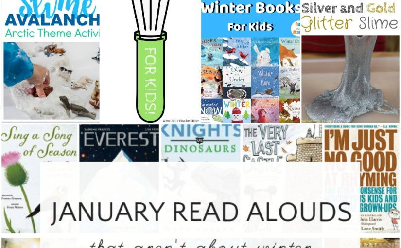 12.31 Simple Experiments, Slime Avalanche Arctic Animal, New Year's Slime, Winter BooksList