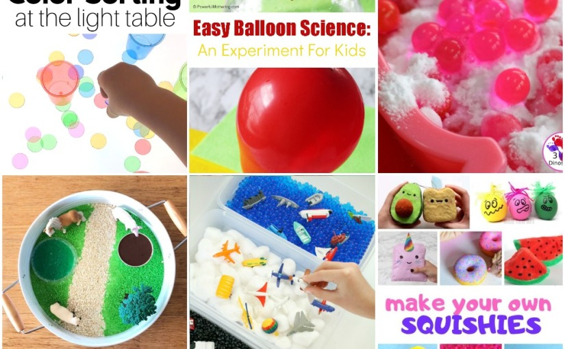02.11 Color Sorting, Balloon Experiment, Water Beads, Sensory Farm Yard and Transportation, Homemade Squishies