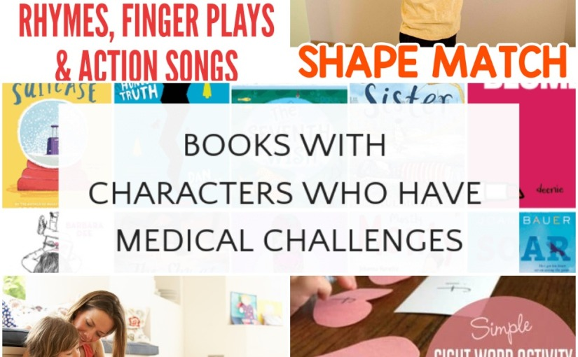 02.11 Shape Matching, Sight Word Hearts Activity, Rhymes, Finger Plays and Action Songs, Books about Kindness