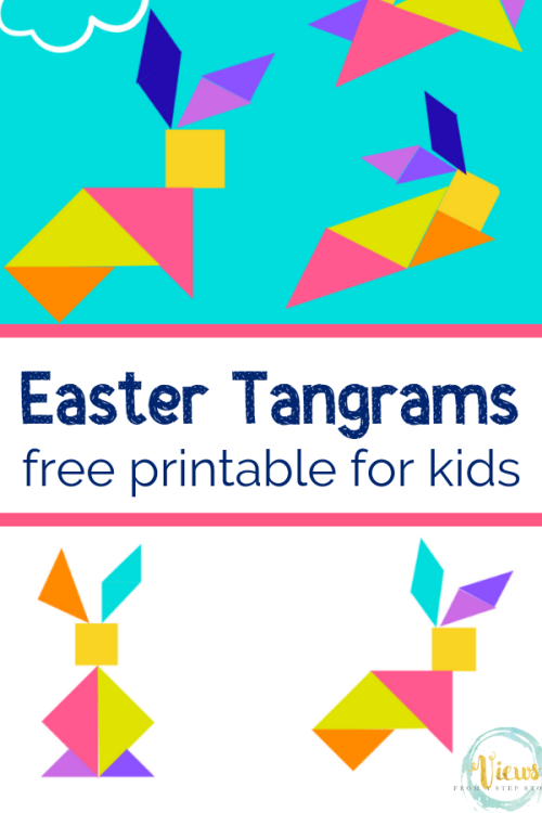 03 23 Handprint Minion Mermaid Shadow Easter Tangrams