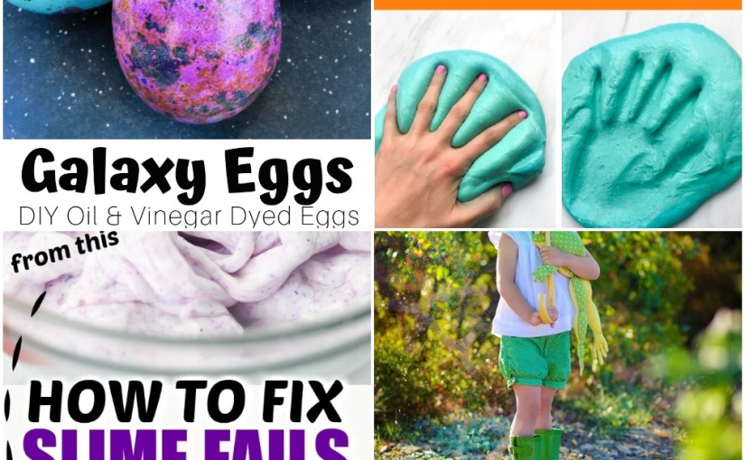 03.26 Galaxy Easter Eggs, Fluffy Slime Without Borax, How to Fix Hard Slime, Frog and Tadpole Songs