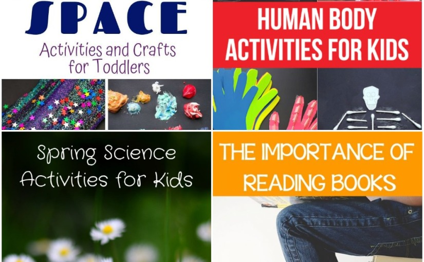04.05 Space and Human Body Activities, Spring Science, The Importance of Reading Books
