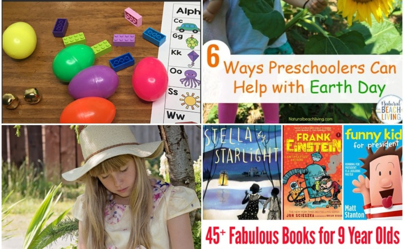 04.12 Egg Hunt Ideas, Earth Day Activities, Books About Gardens, Books for 4th Grade