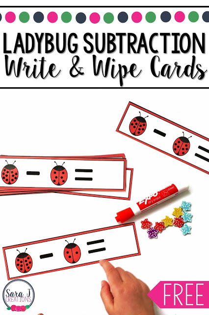 ladybug subtraction write and wipe cards.JPG