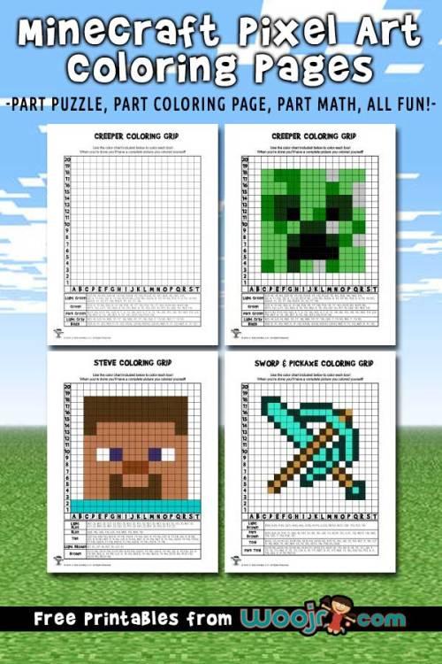 minecraft-pixel-coloring