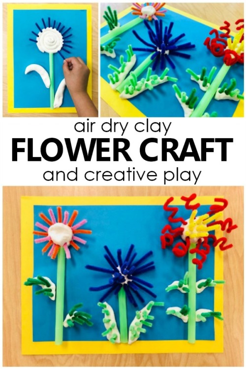 Air-Dry-Clay-Flower-Craft-for-Kids.-Creative-play-art-project-for-preschool-and-kindergarten.-preschool-kindergarten-kidart-artforkids-springactivities-flowertheme.jpg